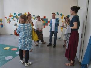 Open studio at Tate Britain